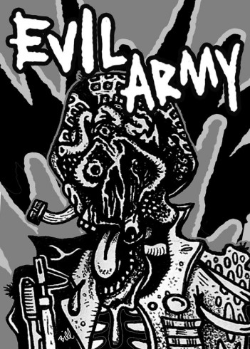 Evil Army -- Art by Bill Heintz