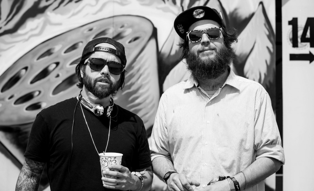 Gabe and John, BUKU Music + Art Festival, 2014