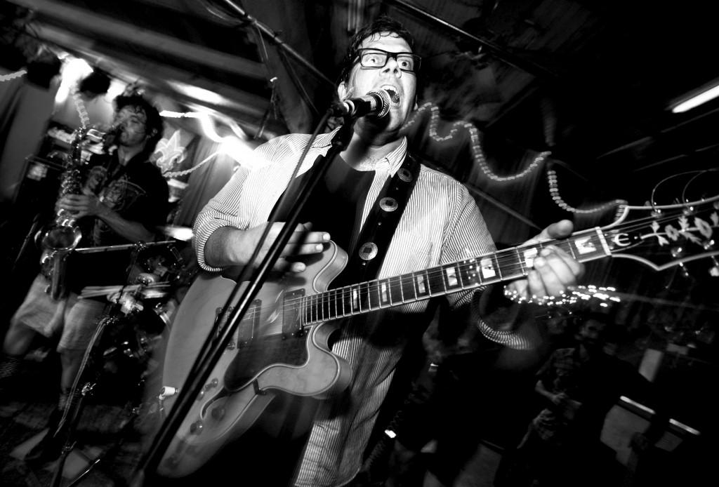 Bill Mountain at Banks Street Bar, July 26, 2014