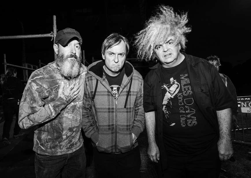 The Melvins -- photo by Joshua Brasted