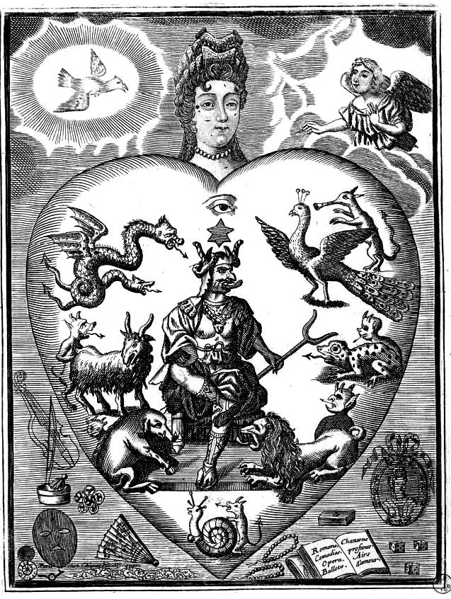Mirror of the Sinful (between 1701 and 1768), by Jacques Chiquet