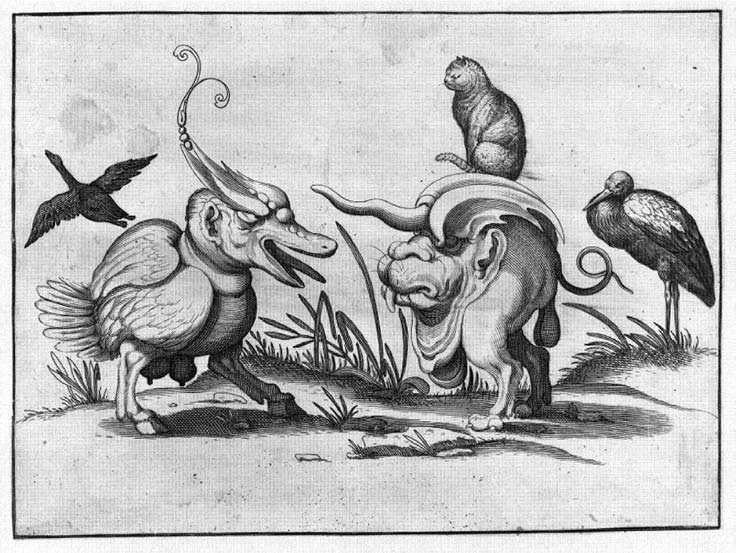 From Arent van Bolten's Grotesques, ca. 1573