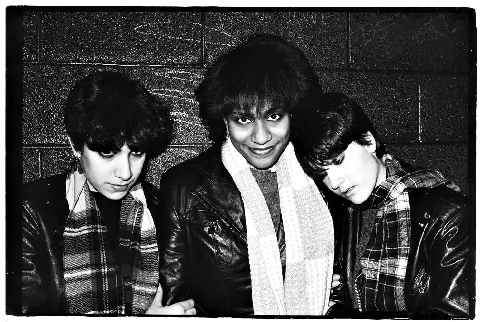 Vivien Greene, Toni Young, and Giovanna Righini