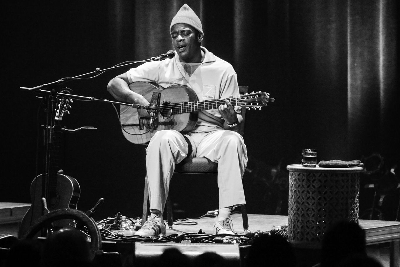 Seu Jorge, A Life Aquatic: A Tribute to David Bowie at the Civic Center (Lenore Seal)