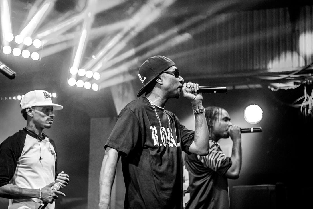 Bone Thugs-N-Harmony at Tipitina's (photo by Zach Brien)