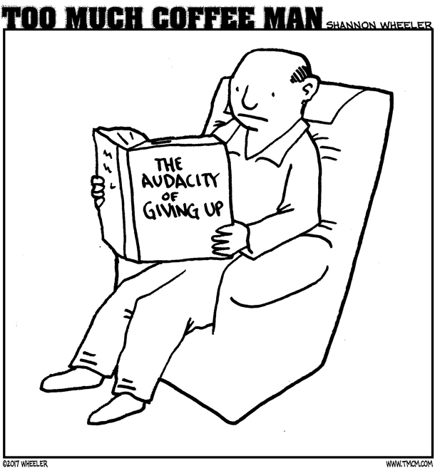 ANTIGRAVITY-OCTOBER-2017-COMIC-TOO-MUCH-COFFEE-MAN-by-Shannon-Wheeler