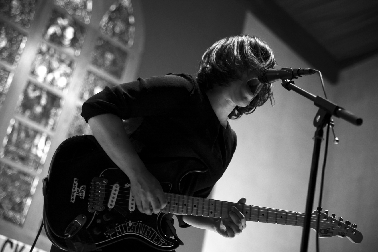 Screaming Females at First Unitarian Church (photo by Jared Landry)