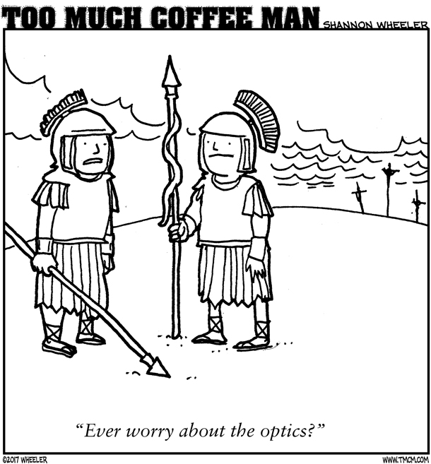 ANTIGRAVITY-DECEMBER-2017-COMIC-TOO-MUCH-COFFEE-MAN-by-Shannon-Wheeler