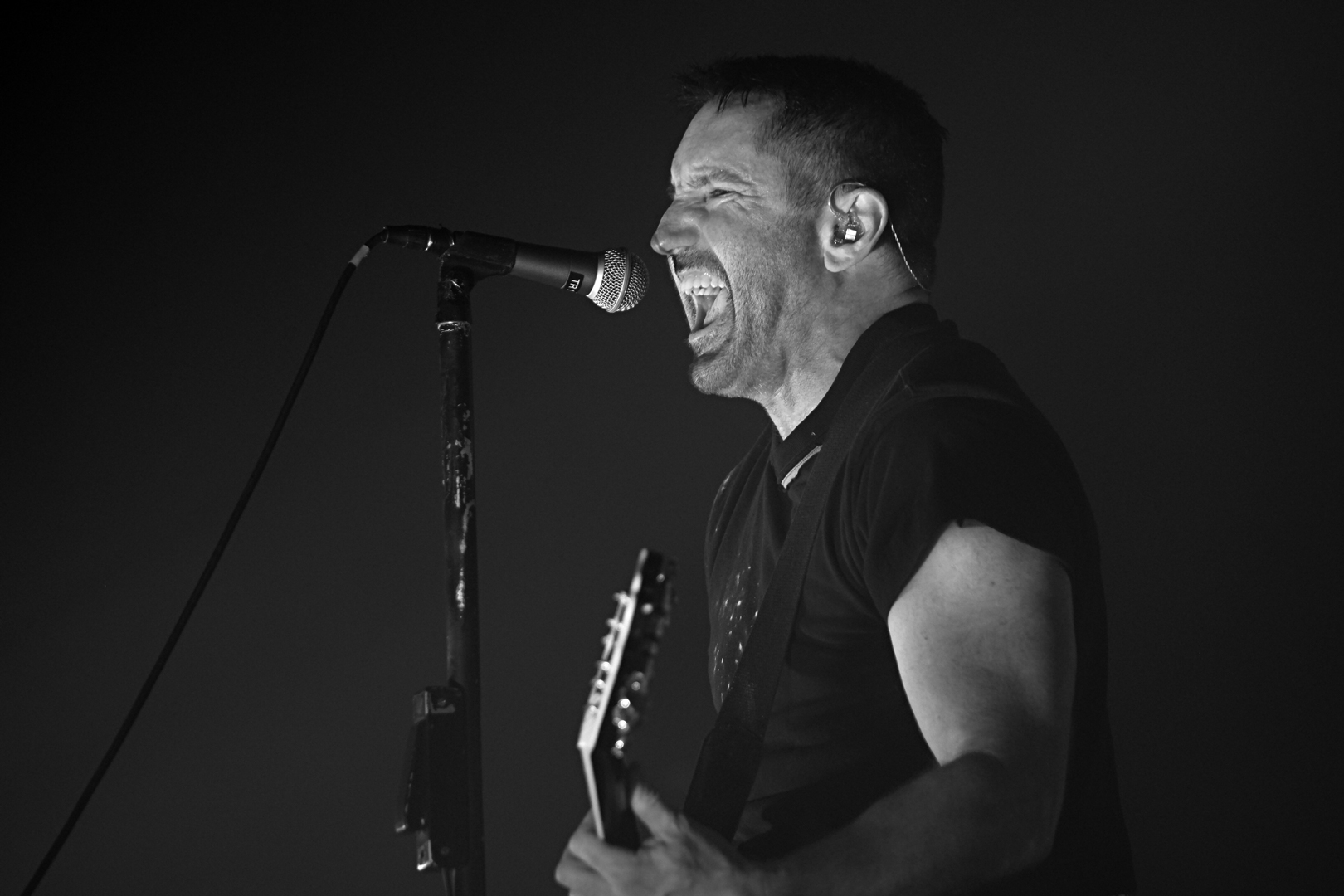 AGING OUT OF ANGST: NINE INCH NAILS LIVE at the SAENGER