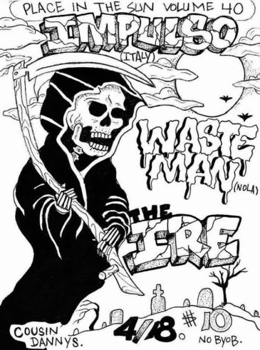 EATING GARBAGE: A WASTE MAN TOUR DIARY – Antigravity Magazine
